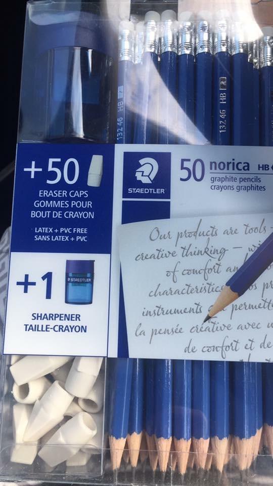 costco pencil sharpener half pencil