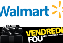 Vendredi Fou Black Friday Walmart Canada 2018