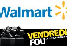 Vendredi Fou Black Friday Walmart Canada 2018