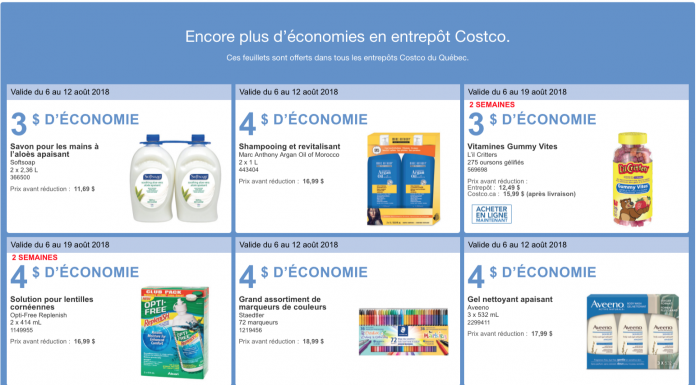 costco les accros du magasinage page 2