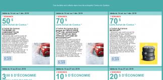 Circulaire Costco de la semaine du 14 octobre 2019