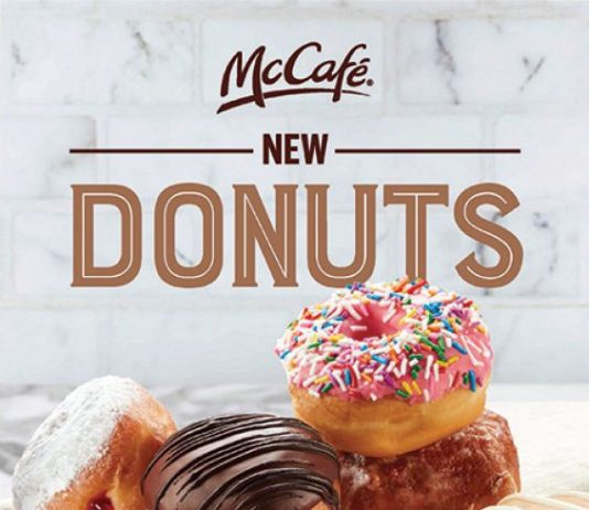 McDonald's se lance dans la vente de beignes
