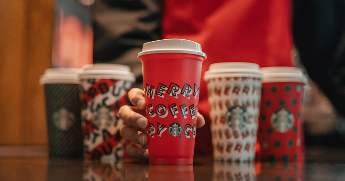 Starbucks tasse réutilisable gratuite!