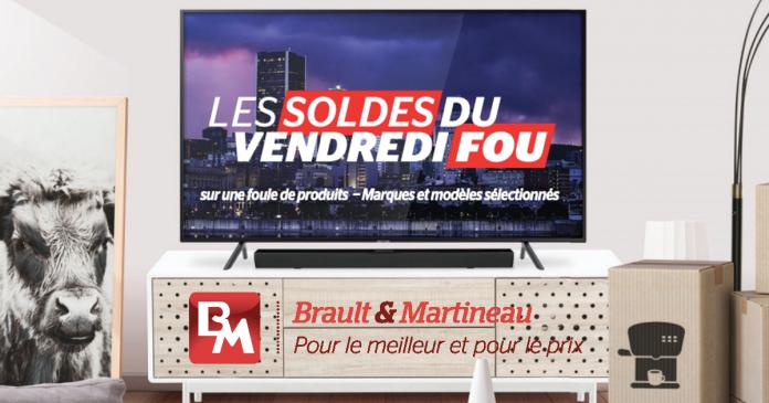 Les Soldes du Vendredi Fou chez Brault et Martineau