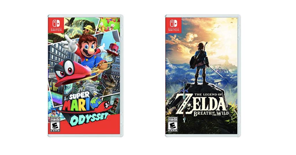 Rabais du Vendredi Fou sur les jeux pour console Nintendo Switch!